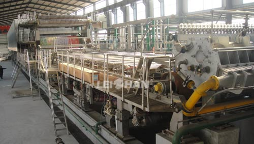 Corrugating Medium Paper Manufacturing Plant