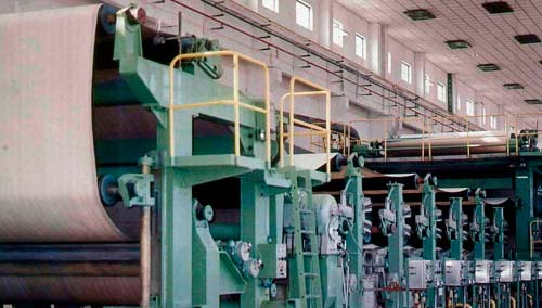 Wire section of Paper Machine