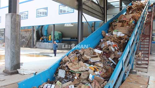 kraft-corrugated-cuttings-processing-plant