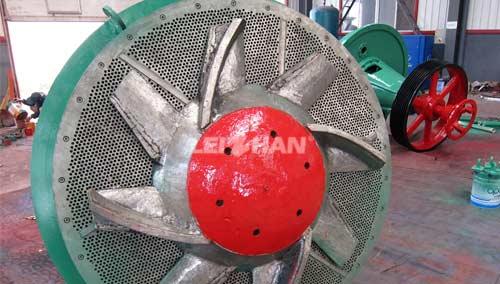 Hydrapulper Rotor and Screen Plate