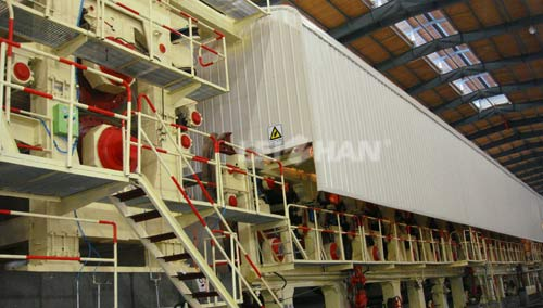 Corrugated Packaging Paper Making Machine for Sale