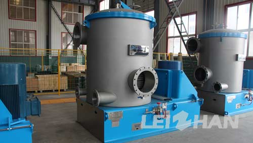 Pressure Screen In Paperboard Packaging Production Line