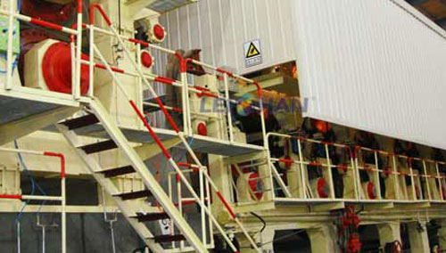 nigeria 500tpd corrugated kraft paper making line