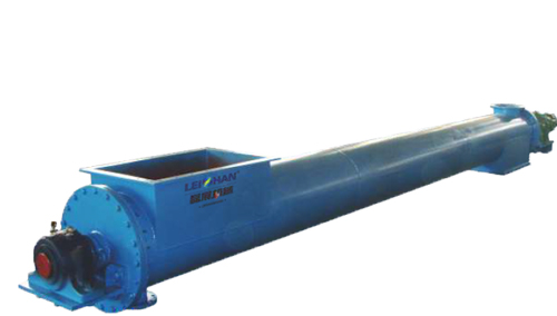 heating screw conveyor