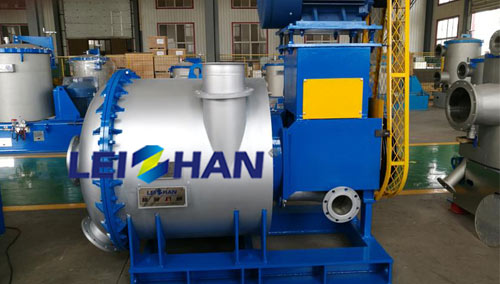 hydrapurger used for pulping line