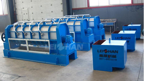 impurity separating machine reject separator
