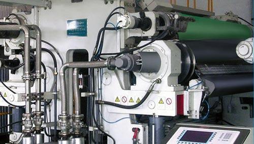 pulp calender machine in paper making process