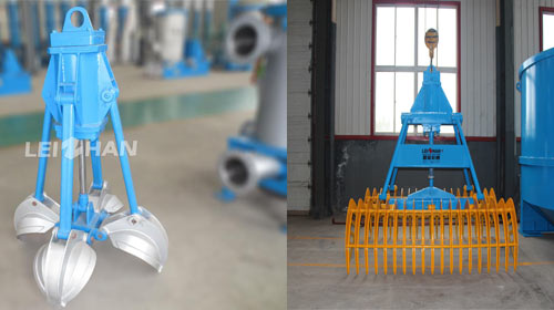 pulp grapple for paper pulping line