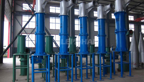paper and pulp high density cleaner material