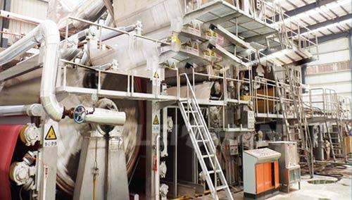 toilet paper making machine plant