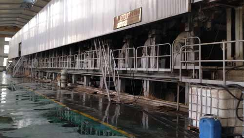 wet part of paper machine