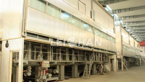 tissue manufacturing plant