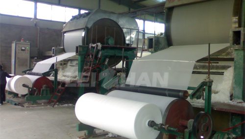 toiet roll manufacturing machine