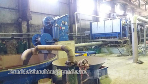 D Pulper Continuous Pulping System For Yarn Tube Making