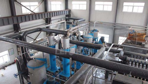 Water Energy Usage In Recycling Paper Mills